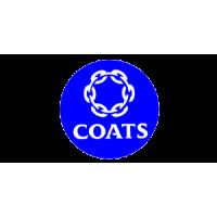 COATS (Англия). Производитель швейных нитей, медицинских материалов, пряжи и оптоволокна