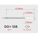Иглы ORGAN DOx558 №90/14 для петельных швейных машин