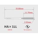 Иглы ORGAN HAx1LL №100/16  для бытовых швейных машин