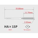 Иглы ORGAN HAx1SP №65/9  для бытовых оверлоков