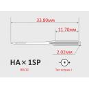 Иглы ORGAN HAx1SP №80/12  для бытовой оверлок