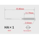 Иглы ORGAN HAx1 №60/8  для бытовых швейных машин