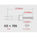 Иглы ORGAN HZx705H №80/12  для бытовых швейных машин