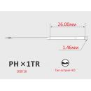 Иглы ORGAN PHx1TR №100/16 для тамбурных швейных машин
