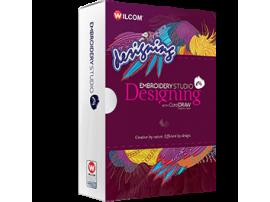 Wilcom Embroidery Studio е4,5 Designing + Corel Draw 2020