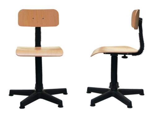 Жесткий стул для швеи REXEL KT-4