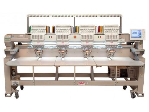 SWF KE-UH1204-45 Промышленный 4-х головочный вышивальный автомат