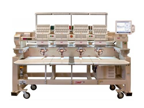 SWF KS-UH1504-45 Промышленный 4-х головочный вышивальный автомат